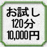 お試し2時間10,000円コース