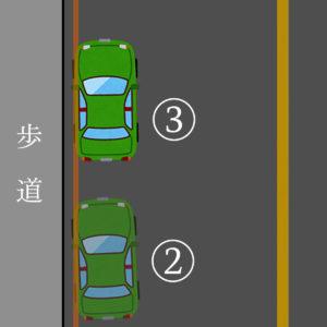 ペーパードライバー講習07 停車 良い例 拡大
