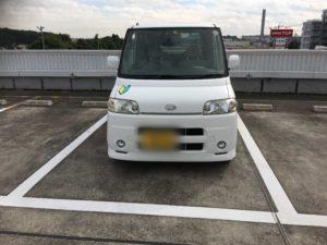 千葉県柏市のペーパードライバー教習2017年11月 駐車練習